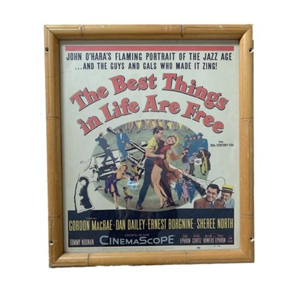 The Best Things In Life Are Free Mini Poster