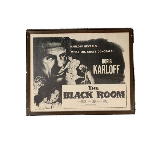 The Black Room (1955) Original Poster