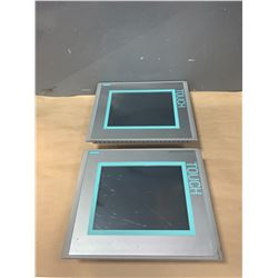 "(2) - SIEMENS 6AV6 643-0CD01-1AX1 MP 277 10"" TOUCH SCREENS"