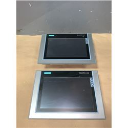 (2) - SIEMENS 6AV2 124-0JC01-0AX0 TP900 TOUCH SCREENS