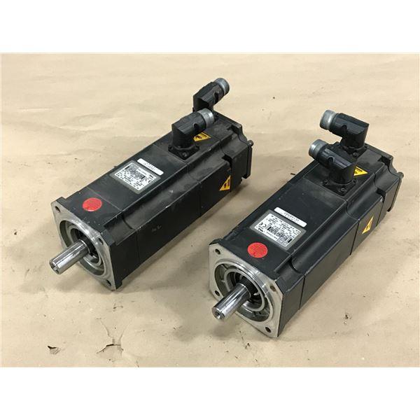 (2) SIEMENS 1FK7044-7AH71-1SH3-Z MOTOR