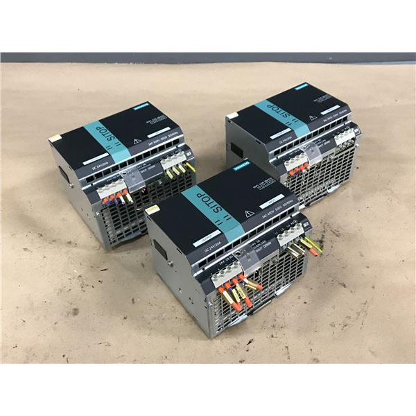 (3) SIEMENS 6EP1436-3BA00 SITOP POWER SUPPLY
