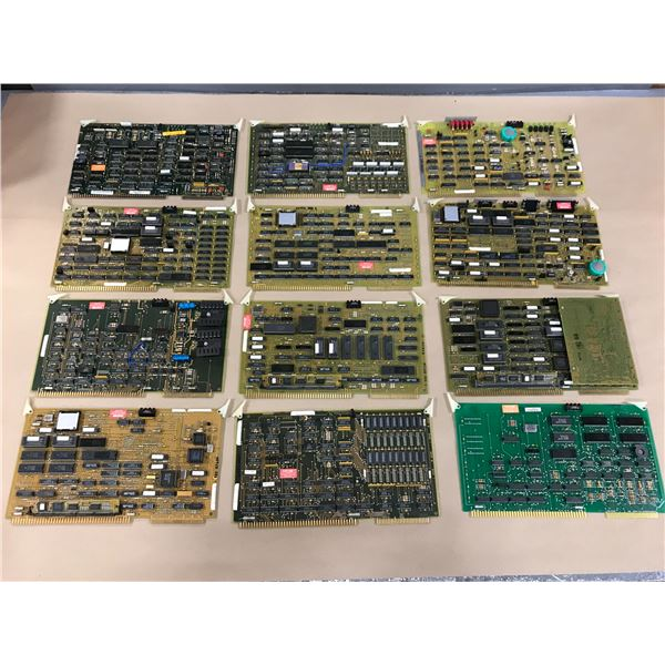 LOT OF CINCINNATI MILACRON CIRCUIT BOARDS *FROM ACRAMATIC 950* *PART #'S PICTURED*