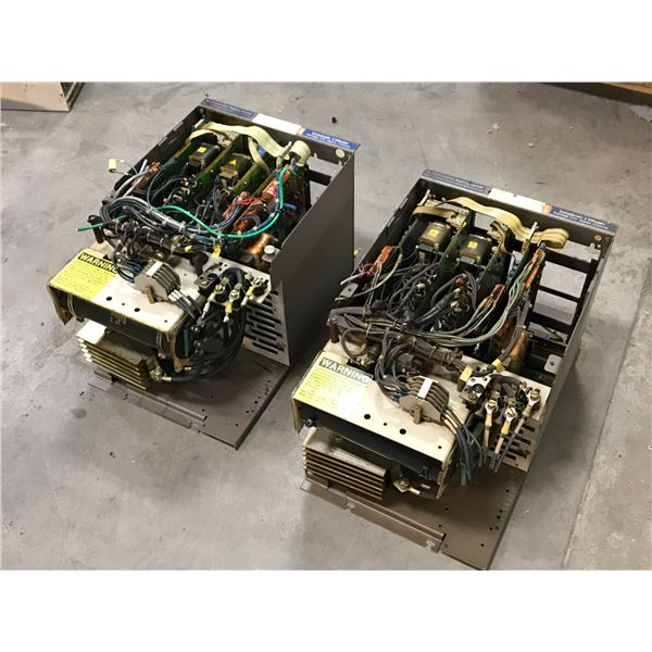 (2) CINCINNATI MILACRON 6RB 2030-2FA00 TRANSISTOR DRIVE