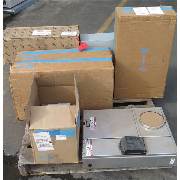 Multiple CooperB-Line Screw Cover Junction Box, Trim, Breaker Box, etc