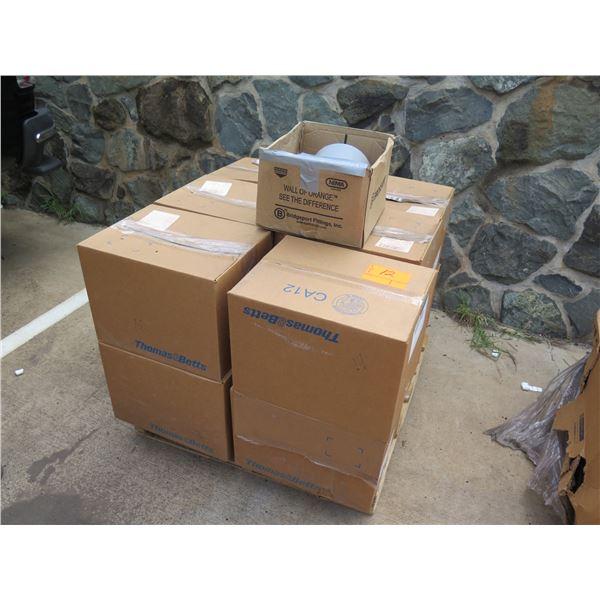 "Qty 12 Boxes (5 per box) Thomas & Betts 6"" Nonmetallic Schedule 40 Couplings"