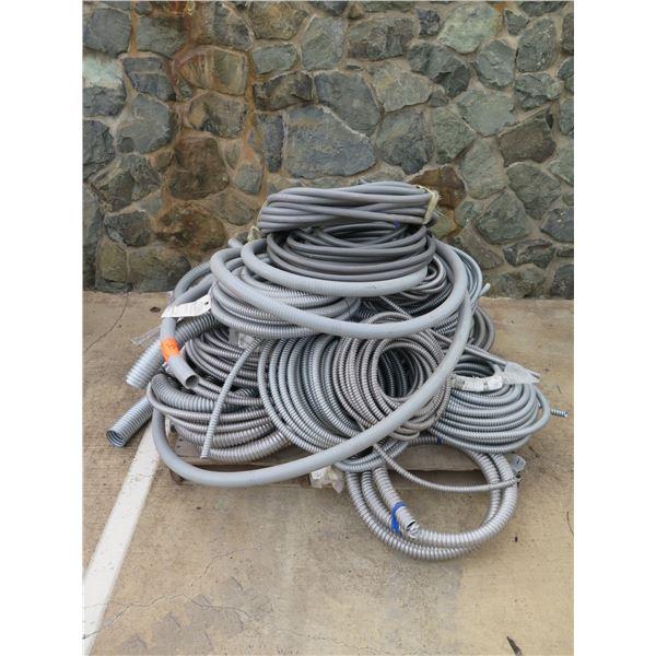 Multiple Southwire Titan, Alflex, etc Coils Reduced Wall Flexible Steel Conduit