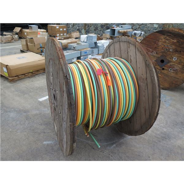 Spool Approx. 124' American Wire Multi-Colored Low Friction AI350 Cable
