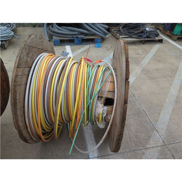 Spool Approx. 136' American Wire Multi-Colored Low Friction RHH Cable