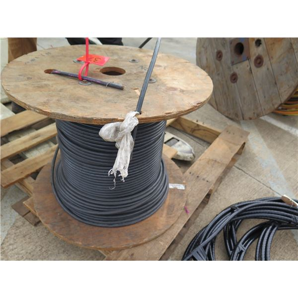 Spool Black #1xXHH W Cable