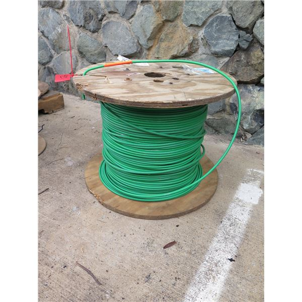 Spool Green 4AWG Cable