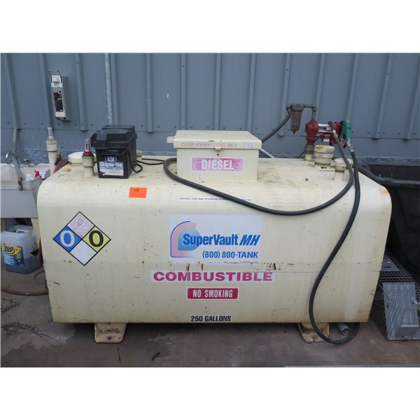 Supervault MH 250 Gallon Diesel Above Ground Fuel Tank (Empty)