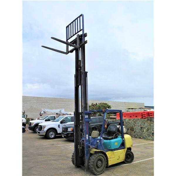 Komatsu FG25T-12 Forklift 2.1 Ton Capacity 8904 Hours w/ Nissan Engine