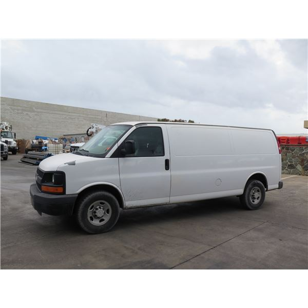 Chevrolet 2007 Express Cargo Van, Lic. 393TWC, 157,186 Miles (Starts & Runs - See Video)