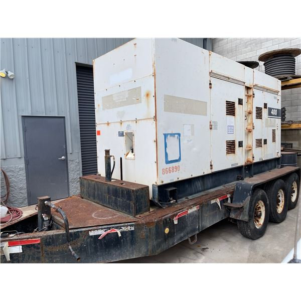 MQ Power 400 KVA WhisperWatt Diesel Powered AC Generator DCA-400SSV on Trailer (Starts & Runs, Produ