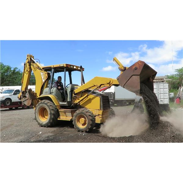 CAT Caterpillar 430D Loader Backhoe Machine 7450.7 Hours (Runs, Drives, Works - See Video)