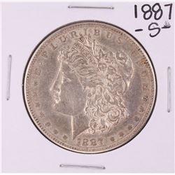 1887-S $1 Morgan Silver Dollar Coin