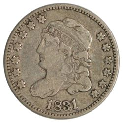 1831 Capped Bust Half Dime Coin