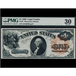 1880 $1 Legal Tender Note PMG 30