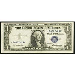 1935F $1 STAR Silver Certificate Fr. 1615