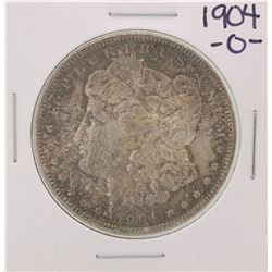 1904-O Great Toning $1 Morgan Silver Dollar Coin