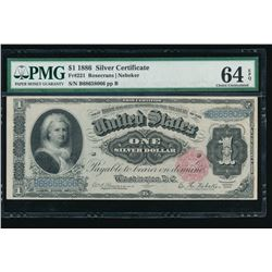 1886 $1 Martha Washington Silver Certificate PMG 64EPQ