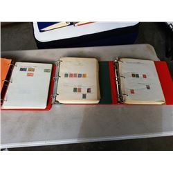 LARGE COLLECTION OF SOUTH AMERICA STAMPS - 3 BINDERS ORGANIZED BY PROVINCES some as early as late 18