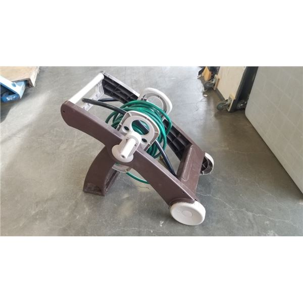 AMES FOLD AND STORE GARDEN HOSE REEL
