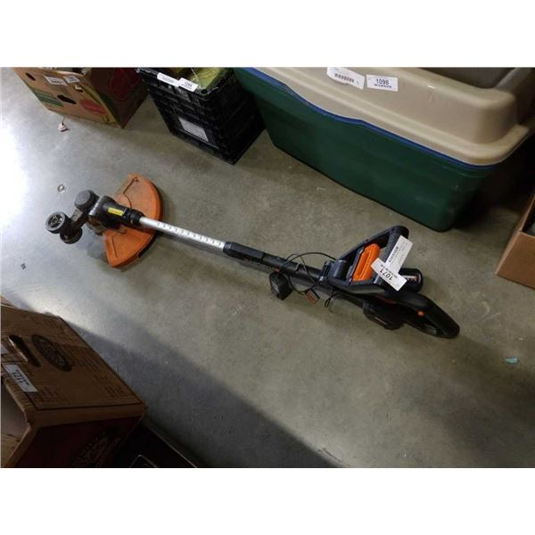 Worx cordless weed eater/edger with battery and charger