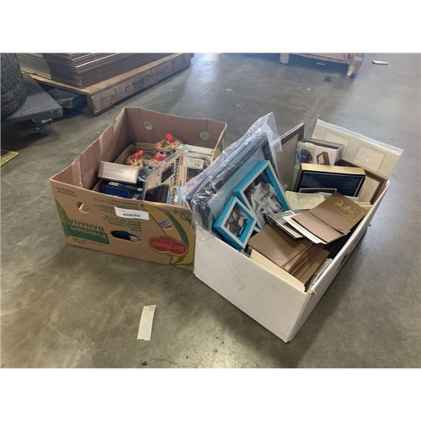 2 BOXES OF ESTATE GOODS, PHOTO ALBUMS