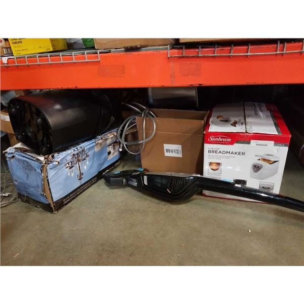 Lot of store return appliences and lights some missing parts