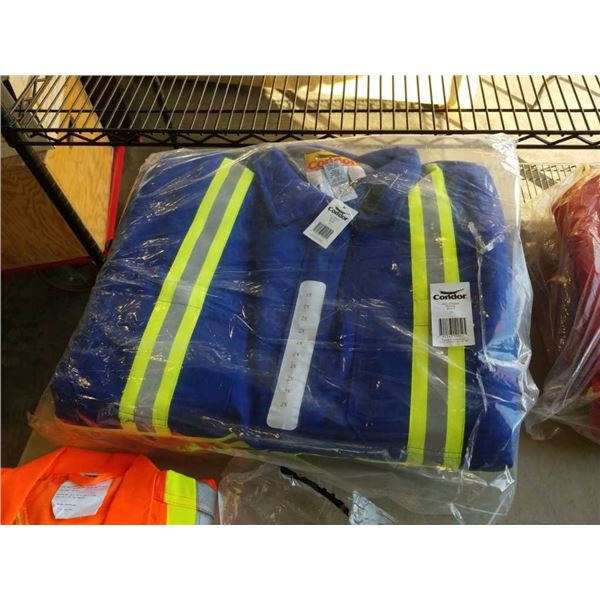 New Condor size 2XL hi Vis coveralls