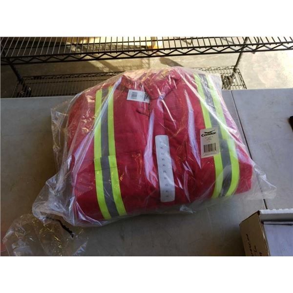 New Condor size XL hi Vis coveralls