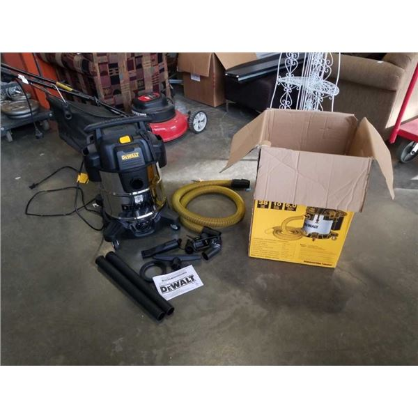 DeWalt 10 gallon Shop-Vac motor runs needs filter and holder