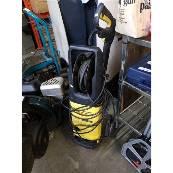 Karcher electric pressure washer with gun tested and working