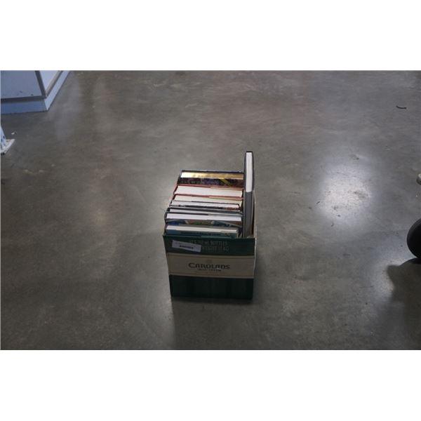 BOX OF BASEBALL COFFEE TABLE BOOKS SPORTS
