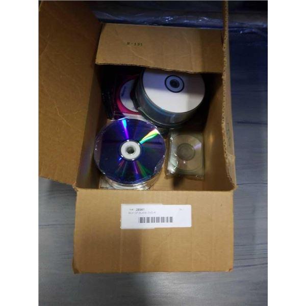BOX OF BLANK DVD-R