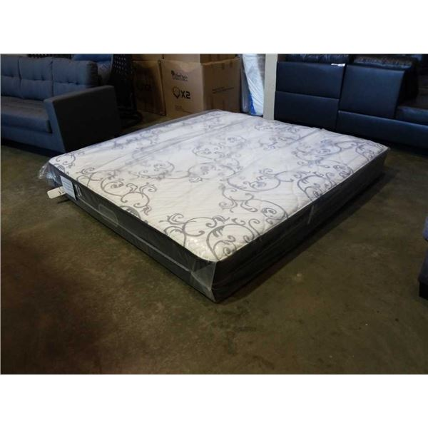 Kingsize beautyrest silver farrow tight top mattress, retail $1199