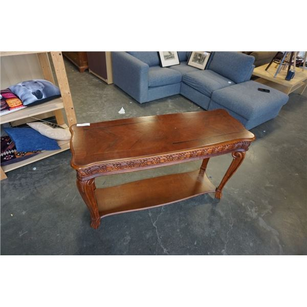 MODERN CARVED SOFA TABLE