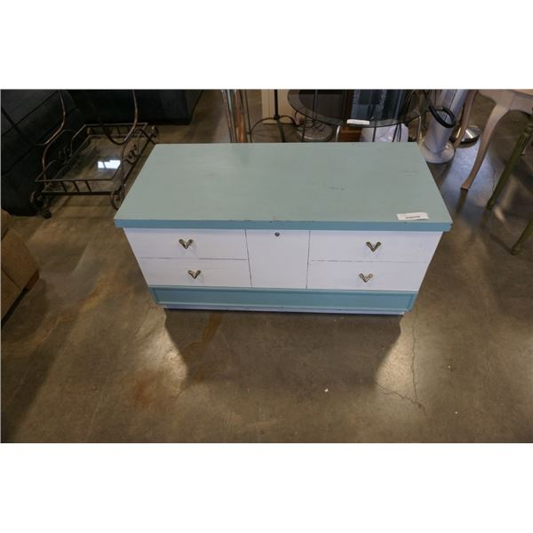 PAINTED HONDERICH CEDAR LINED CHEST