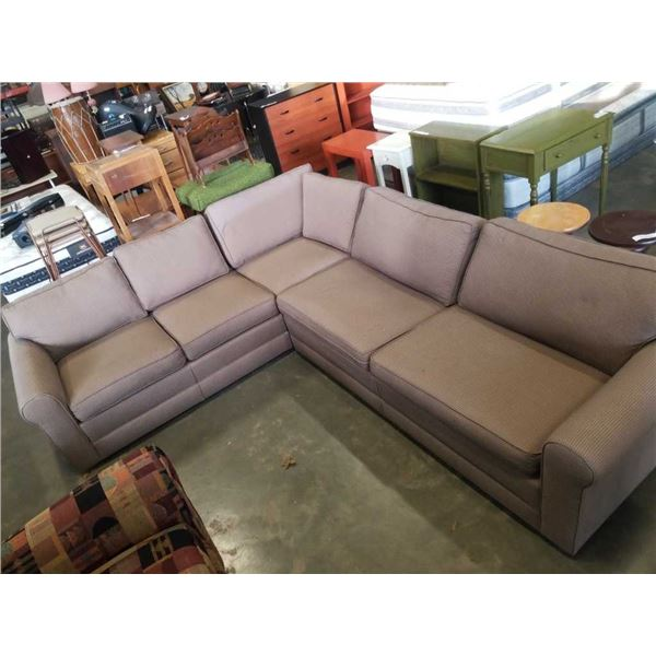 UPHOLSTERED SECTIONAL SOFA - JORDANS FURNITURE