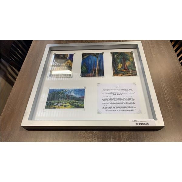 Framed Emily Carr picture collection