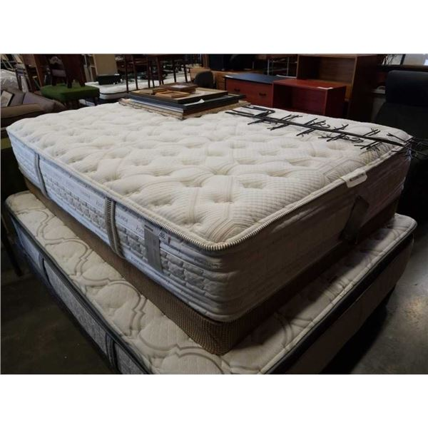 SERTA ISERIES ALDEN DOUBLE SIZE MATTRESS WITH BOX SPRING