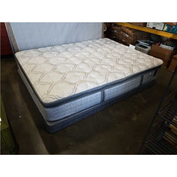 TRUMP HOME CALLUM QUEENSIZE PILLOWTOP MATTRESS