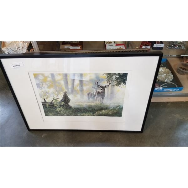 SIGNED LIMITED EDITION PRINT - DEER