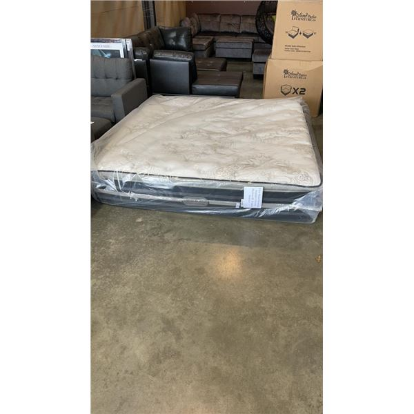 FLOOR MODEL BEAUTY REST IMPERIAL COLLECTION BAYMORE HL KINGSIZE MATTRESS - RETAIL $2199.99