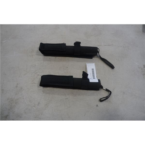 2 COLLABSABLE BATONS