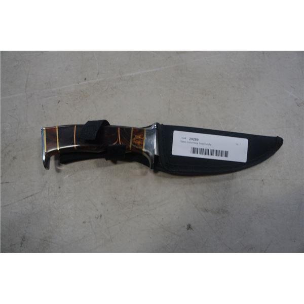 New columbia fixed knife