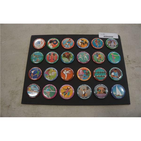 1984 olympic pin set