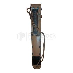 Band of Brothers Damien Lewis Knife & Sheath